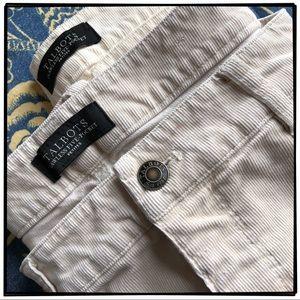 Talbots Flawless 5-pocket Straight Leg Corduroys.